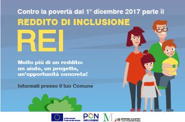 Reddito di inclusione REI – Comune San Martino in Rio