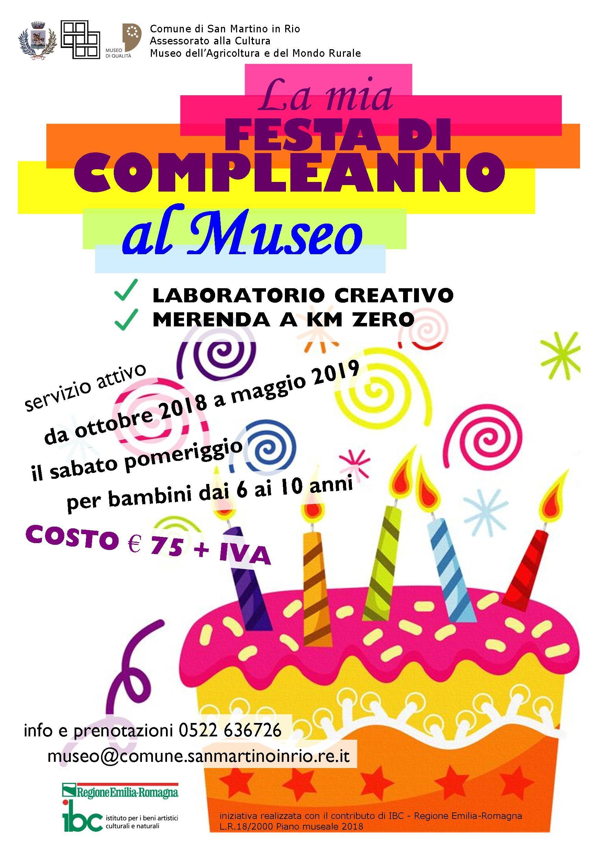 La Mia Festa Di Compleanno Al Museo Comune San Martino In Rio